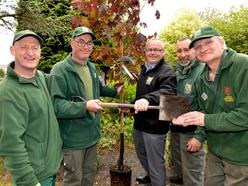 Gardener Andy celebrates 40 years at Dudley Zoo