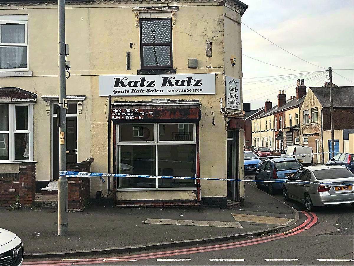 The Katz Kutz barber shop