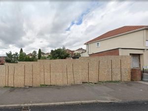 The vacant land in Bourne Street, Coseley which has stood empty for 15 years. PIC: Integrated Designs and Associates Ltd