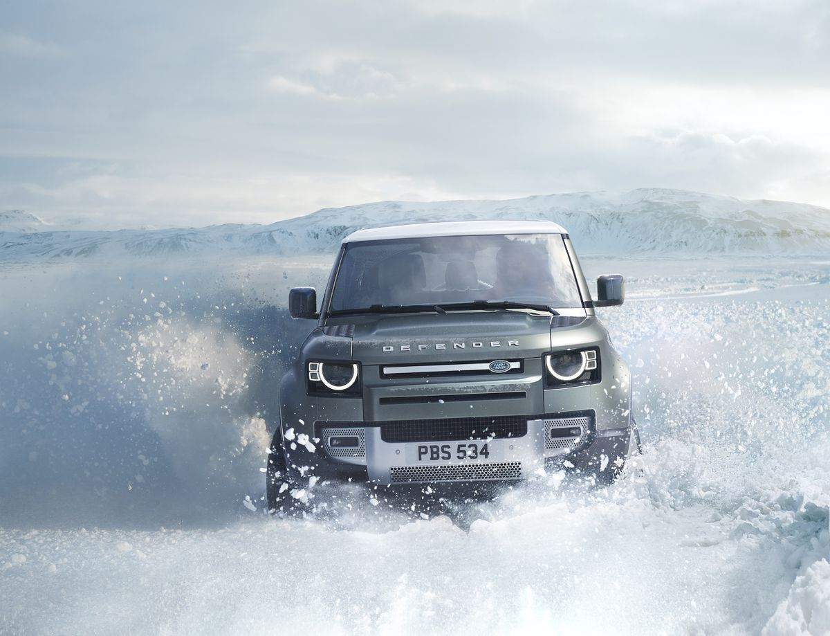Sales of the new Land Rover Defender have helped profits recover