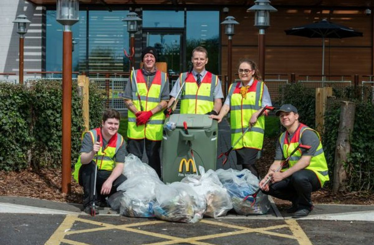 Similar clean up events will be taking place up and down the country