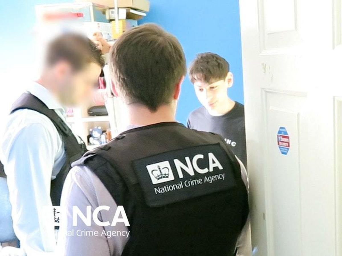 The teenager was arrested at his home in Watford (National Crime Agency/PA)