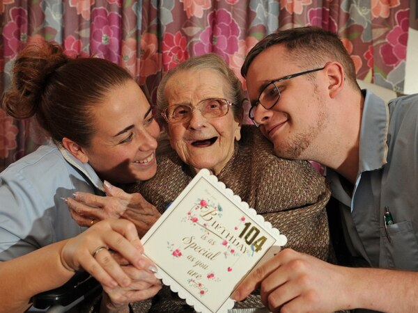 One of Sandwell's oldest residents celebrates 104th birthday