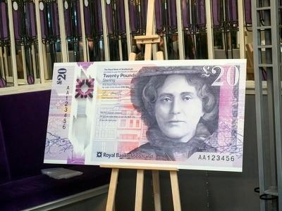 New bank note unveiled depicting entrepreneur behind Mackintosh tearoom