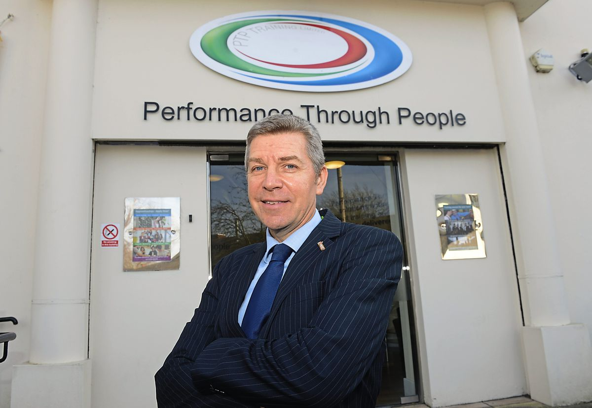 PTP chief executive Rob Colbourne is urging young people to apply for apprenticeships