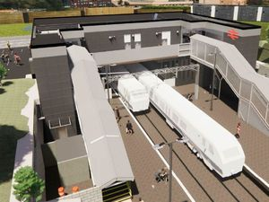 How the new Perry Barr station will look - image courtesy of West Midlands Combined Authority -