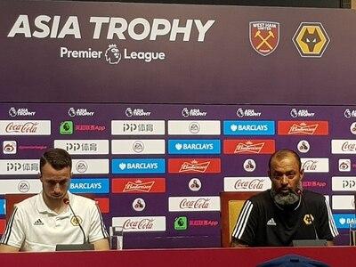 Wolves boss Nuno pleased with pre-season progress