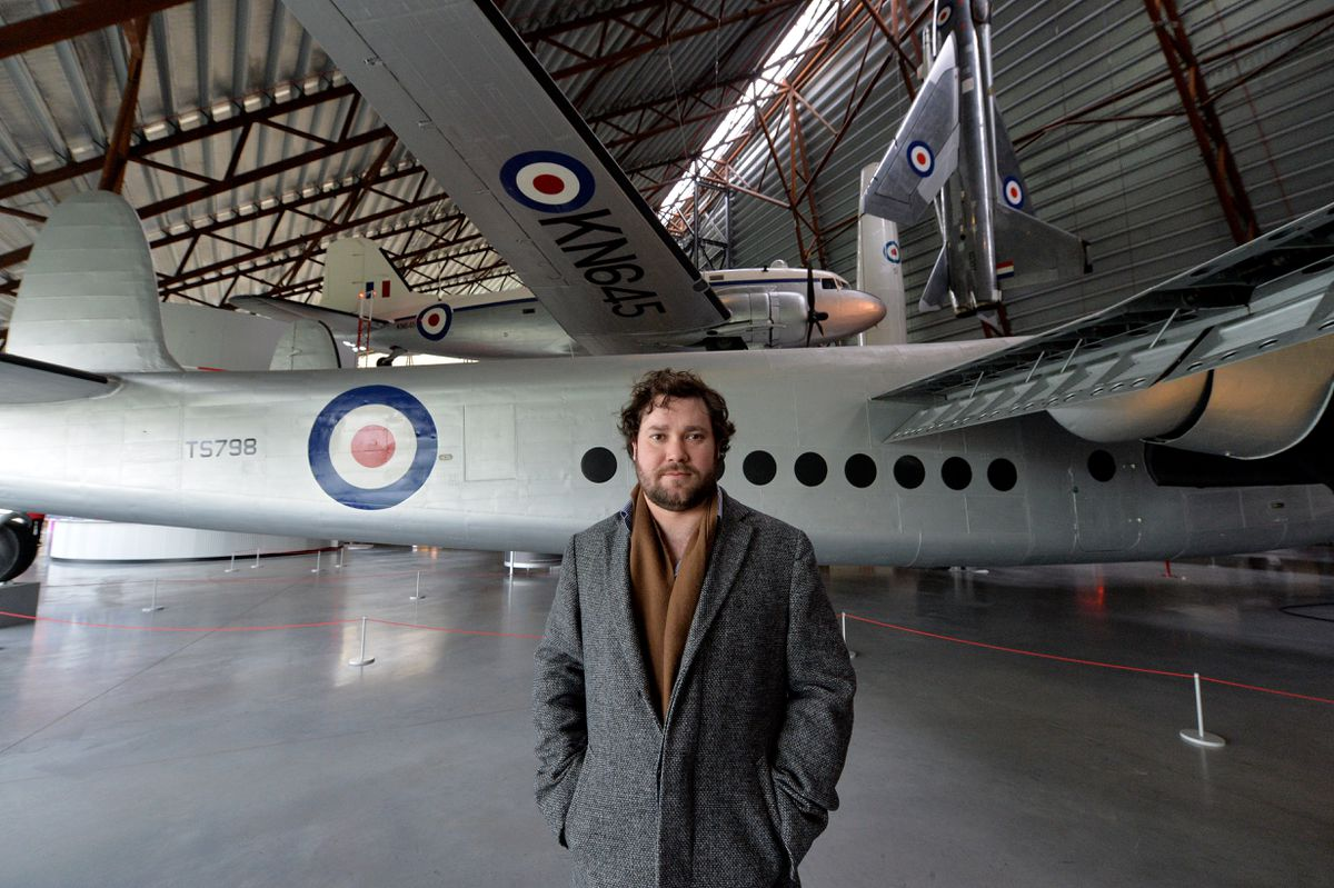 Tom Hopkins is a curator at RAF Museum Cosford