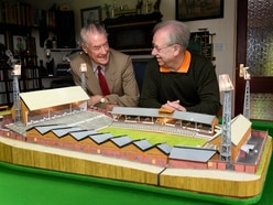 Molineux architect gives thumbs up to matchstick model of Wolves ground