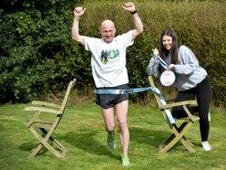 Beating the coronavirus blues: Burntwood man runs 26.2 miles in back garden