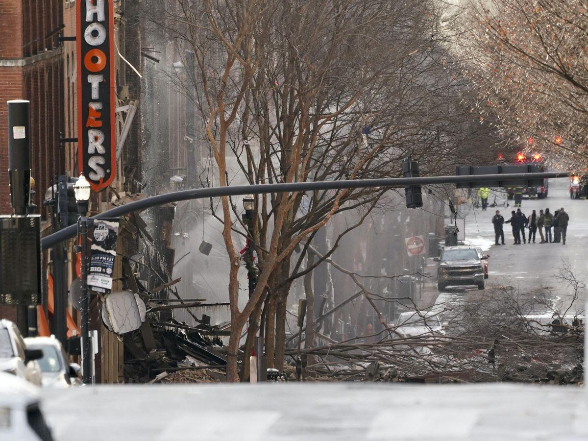 FBI Search Home After Nashville Explosion