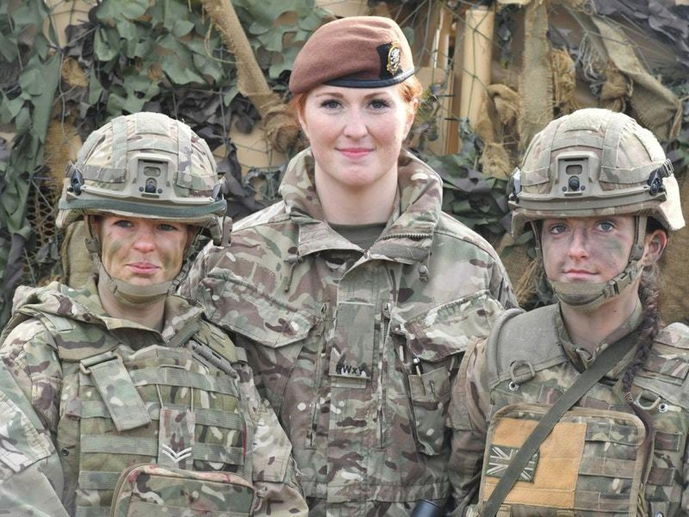 bfb1f981632 Royal Army Medical Corps medic Corporal Vicky Helsby