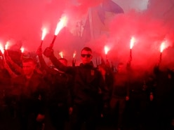 Far right marchers vent anger at Ukraine's president over peace plan