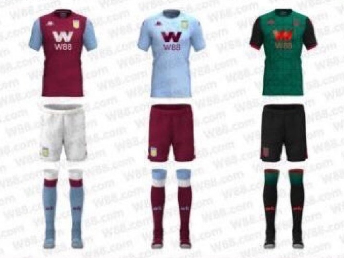 newest af25c 57c02 Are these Aston Villa's new kits? | Express & Star