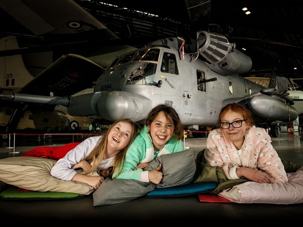Chance to sleep under the stars... and planes at RAF Cosford