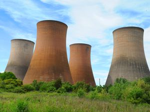 The Rugeley Power Station cooling towers
