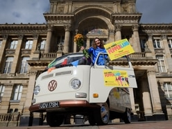 Birmingham Hippodrome bring flower power to city for Beatles-inspired show - in pictures