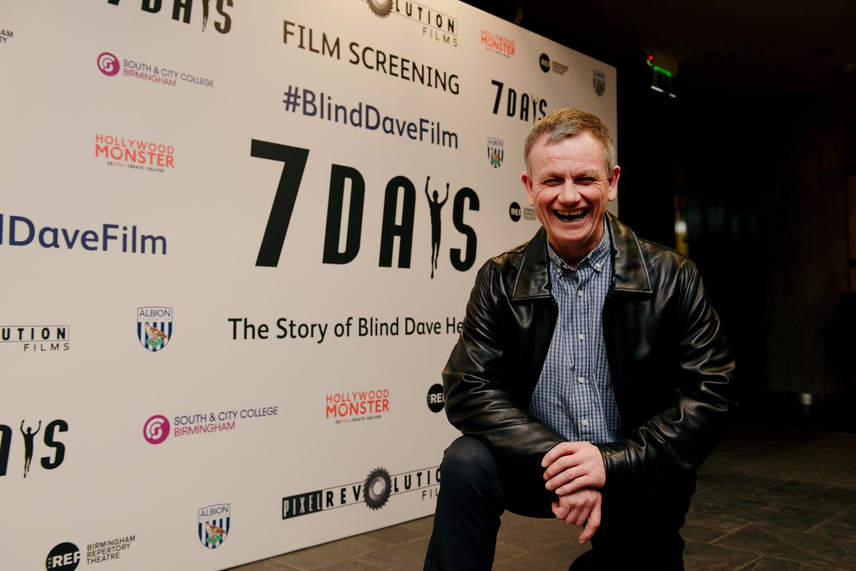 Dave Heeley at the film's premiere in February
