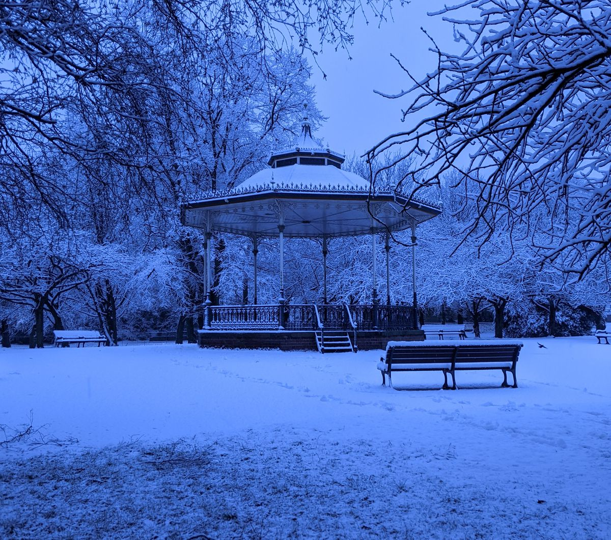Fiona Hutchinson shared this from East Park in Wolverhampton