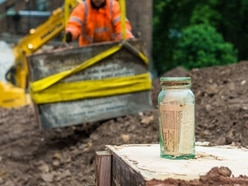 HS2 archaeologists exhume bodies and discover artefacts on digs