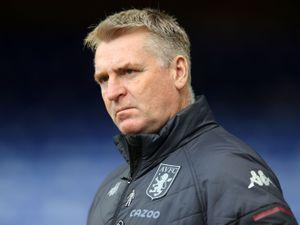 Aston Villa manager Dean Smith.