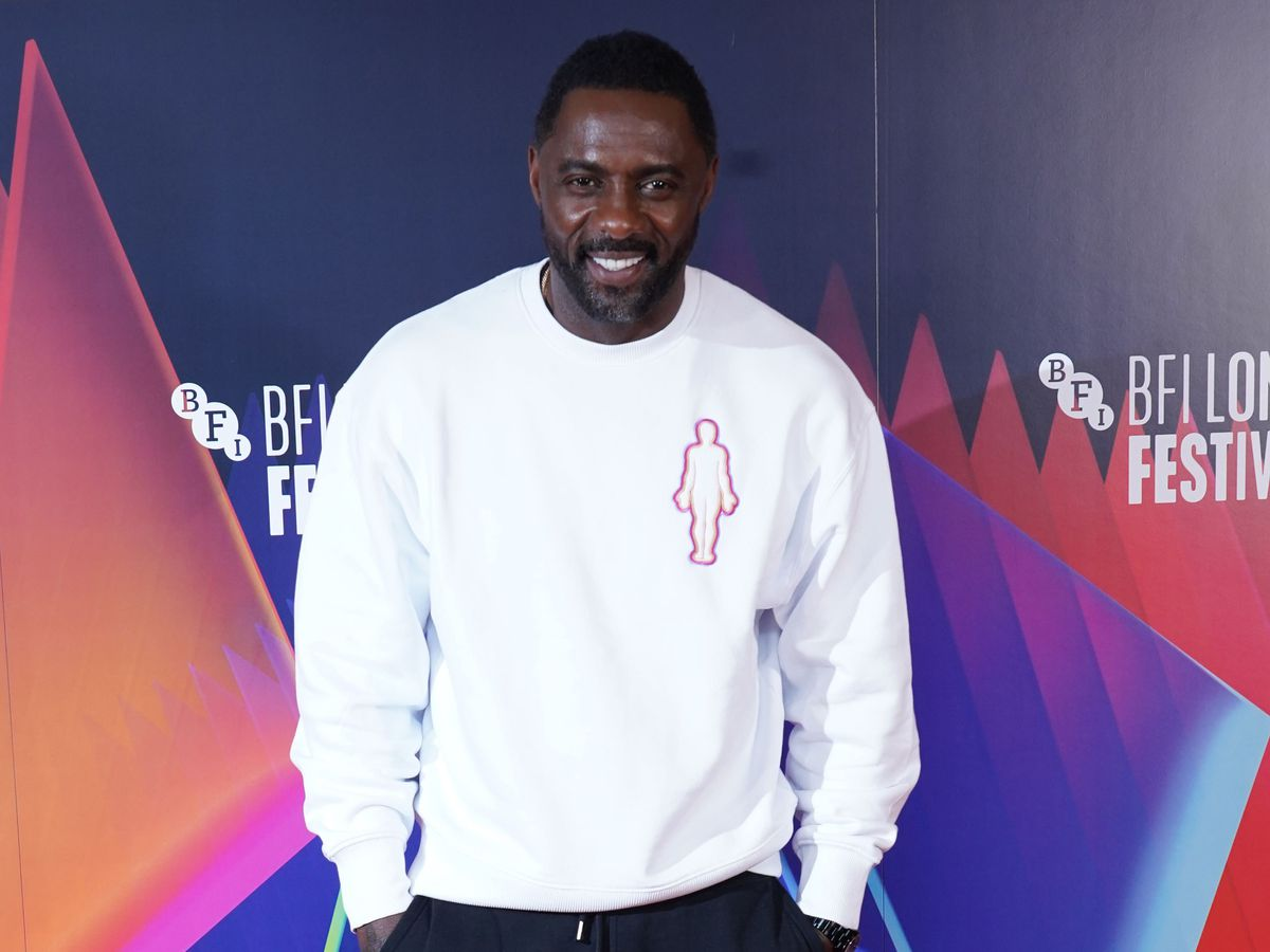 Idris Elba, who said he was a 'little discouraged' by his parents' reaction