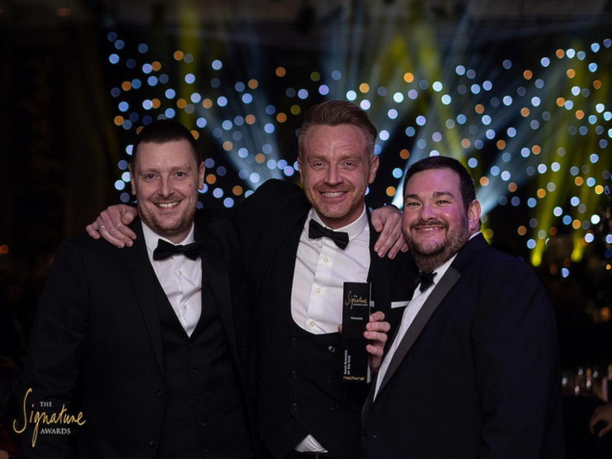 The co-owners of KMB: Kevin Jones, Paul Hull and Jamie Warren