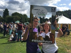 MEP Ellie chips in at wildlife festival