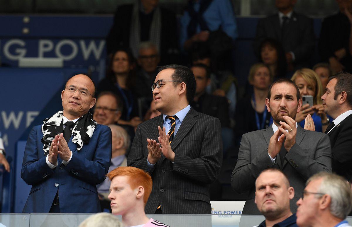 Guo Guangchang the chairman of Fosun International Limited and Jeff Shi Executive Chairman of Wolverhampton Wanderers (AMA)