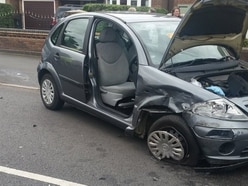 Two women cut free after crash in Walsall