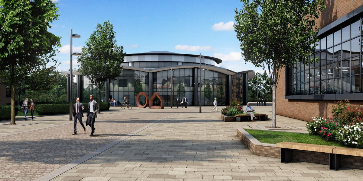 How the new employment area at Longbridge could look