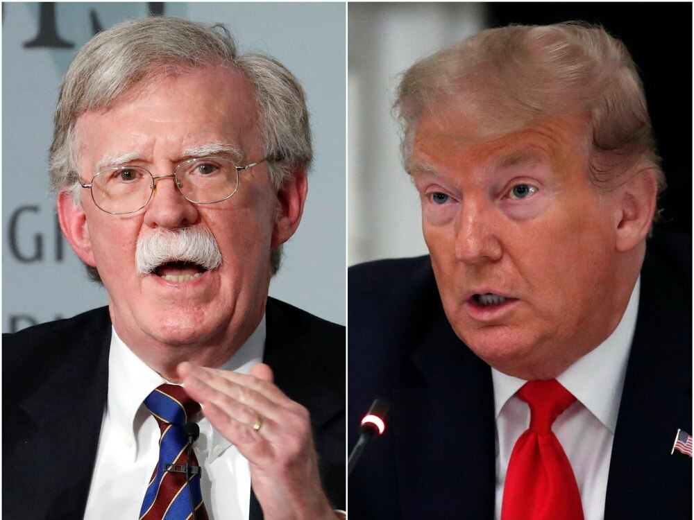 Judge denies Trump's request to halt John Bolton's book release