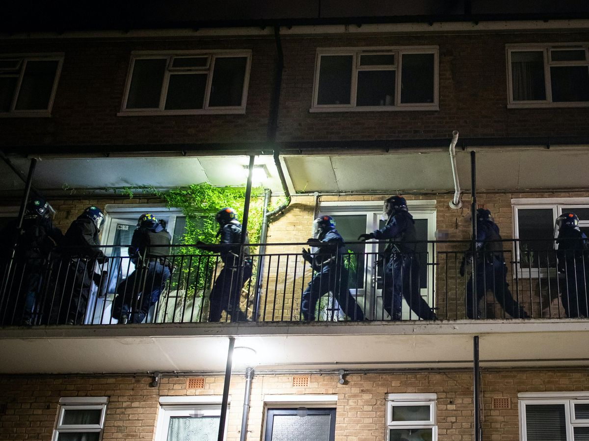 North London police raids