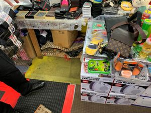 Some of the seized goods