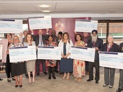 Good causes benefit from £54,000 donated in late Wolverhampton mayor's memory