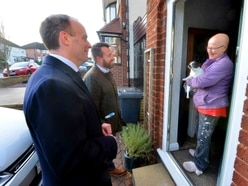 Dominic Raab's election pitch scuppered by barking dog in Wolverhampton