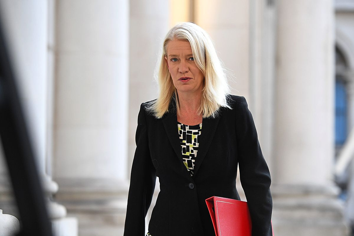 Conservative Party Chairwoman Amanda Milling