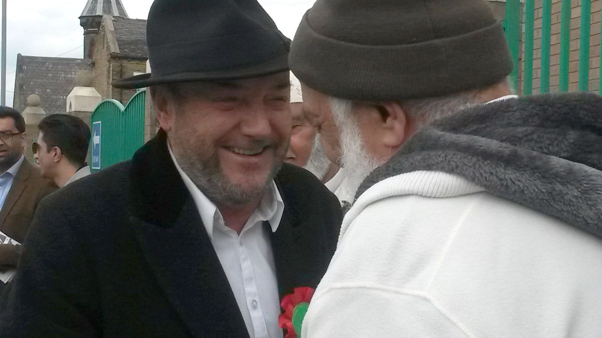 George Galloway is bringing his show to West Bromwich next month