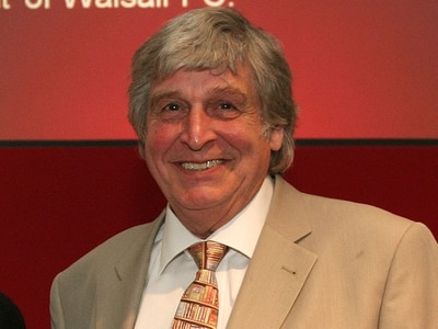 Tributes paid to Walsall FC President Barrie Blower