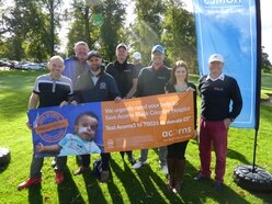 Golfers tee off on charity round to support Acorns Children's Hospice