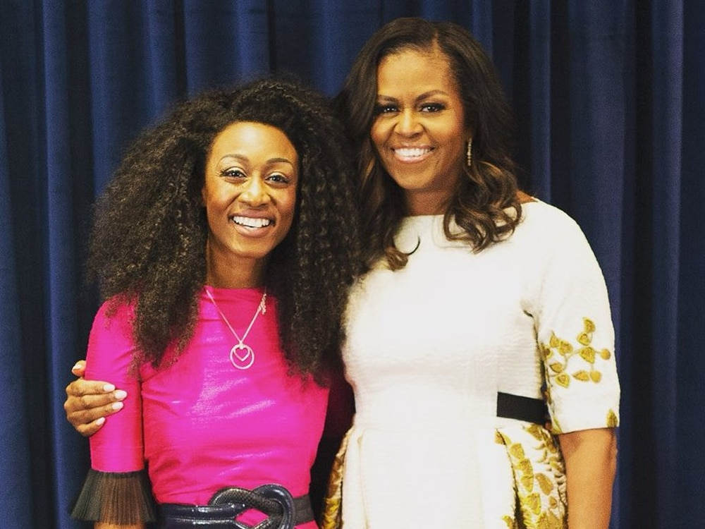 'She is an inspiration' - Beverley Knight starstruck to meet Michelle Obama