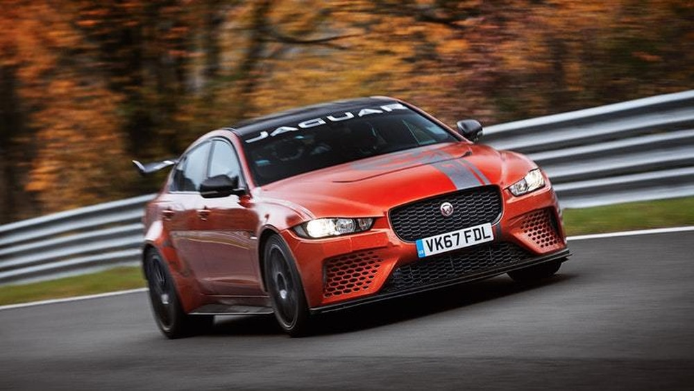 Jaguar XE SV Project 8 becomes the fastest saloon around the Nurburgring