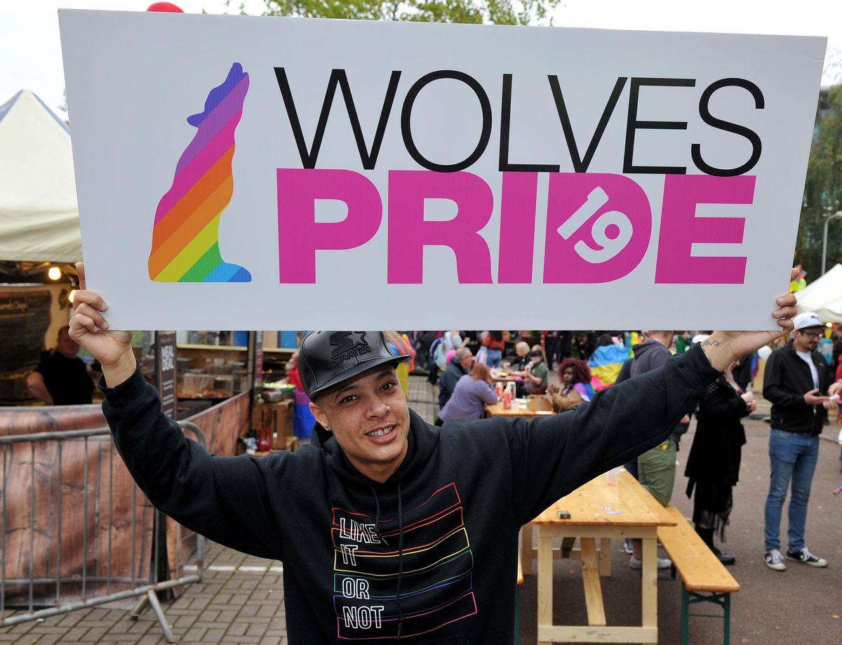 Nate Ethan Watson at Wolverhampton Pride 2019