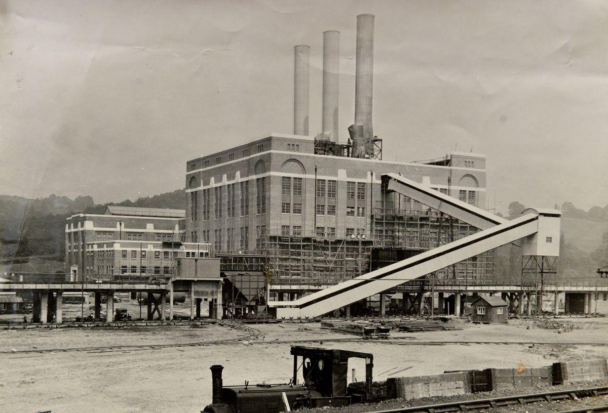 Pictured, Ironbridge power station opening