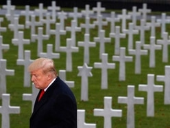Trump suggests France would have been vanquished without US