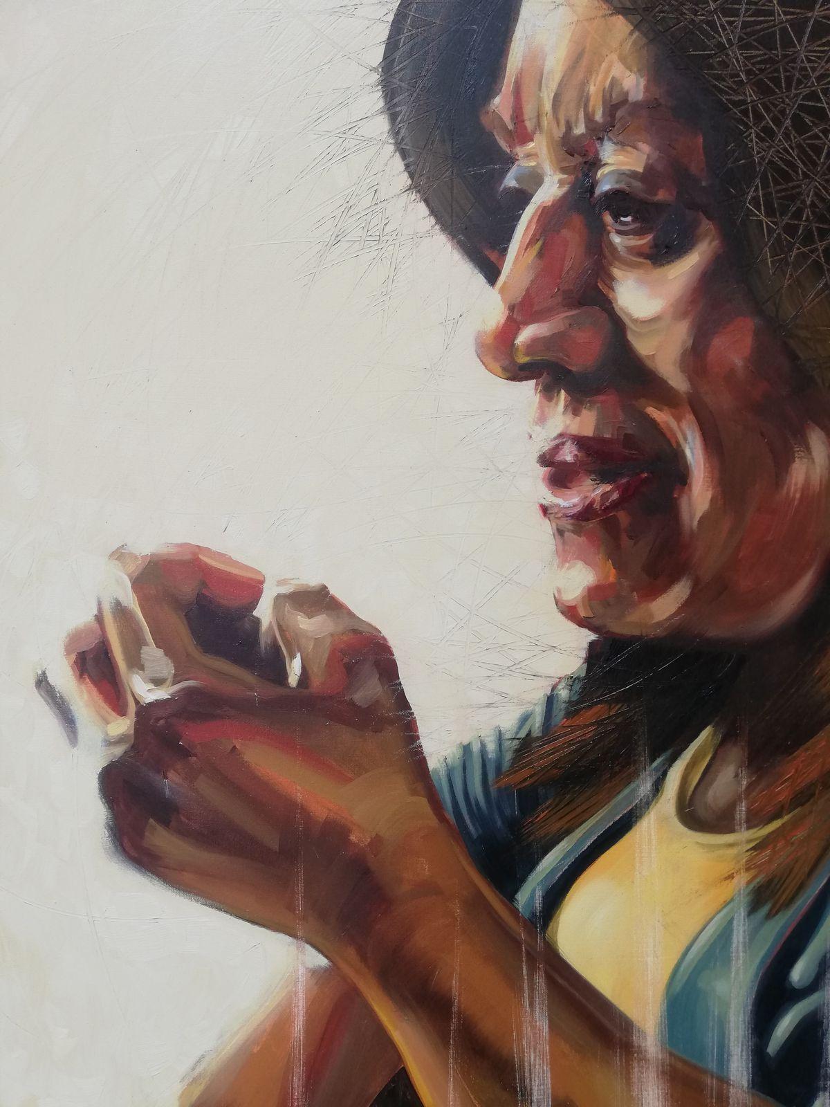 Lorraine McGinnis' portrait of Eleanor Smith
