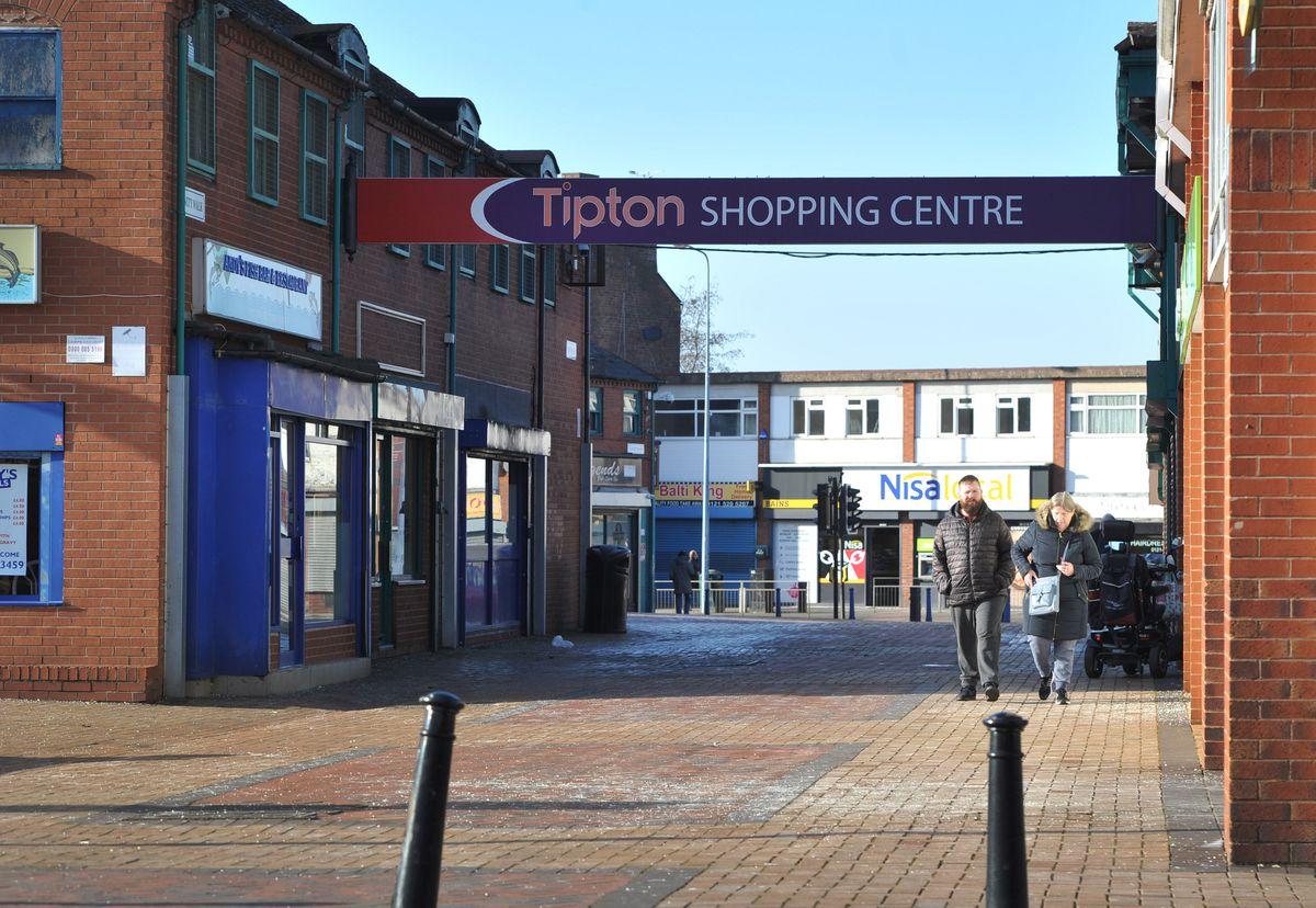 Tipton Shopping Centre now dominates