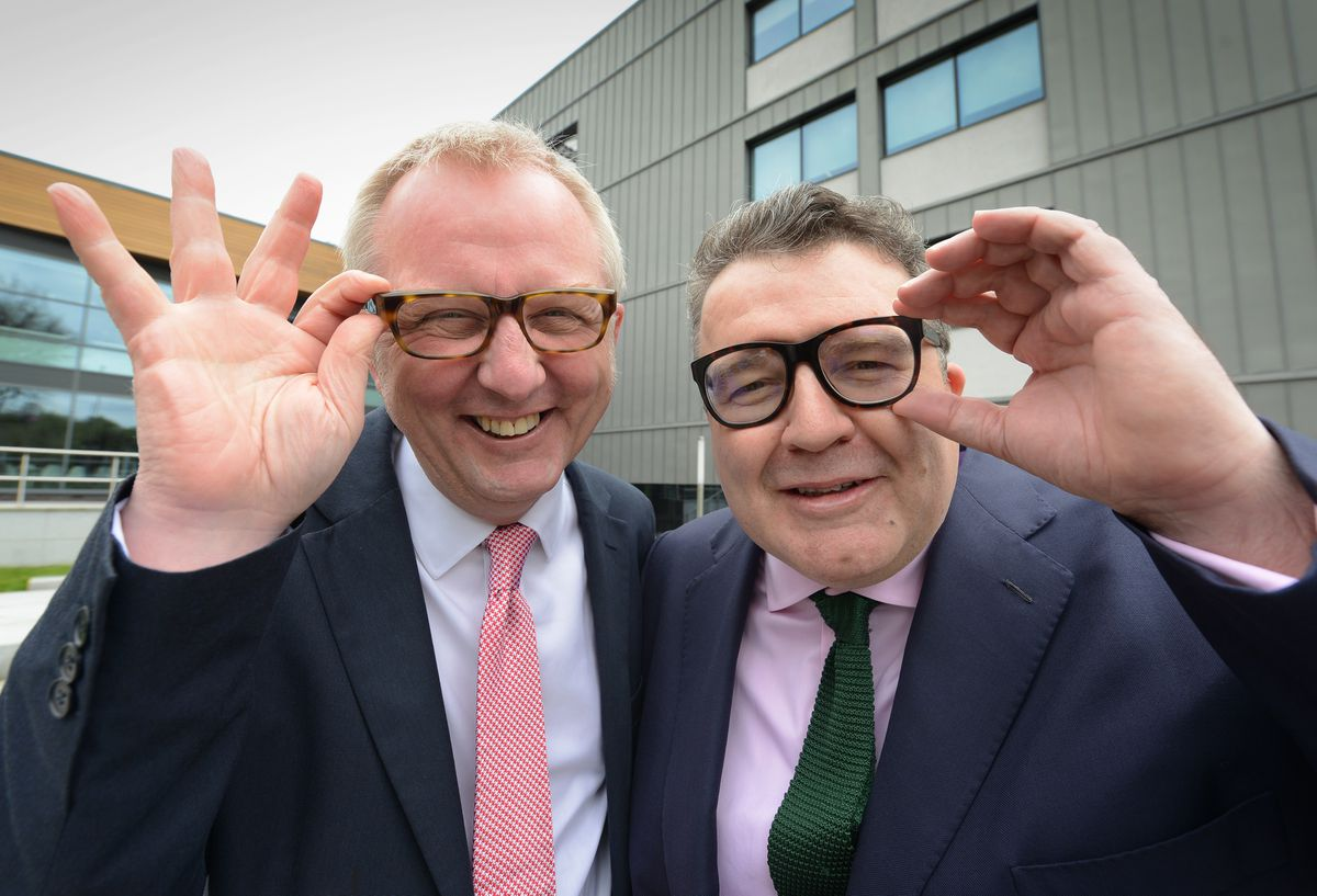 Ian Austin, left, and Tom Watson are both standing down at the 2019 election