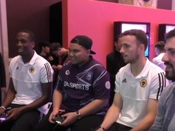 Wolves in China: Diogo Jota, Willy Boly and Max Kilman attend special FIFA 20 event - WATCH