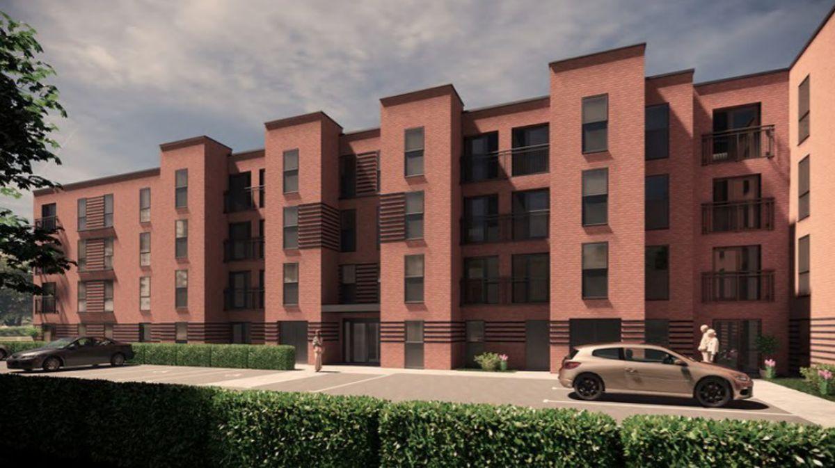 Artist impression of a proposed retirement apartments block off Little Aston Road in Aldridge. Photo: Inspire Design